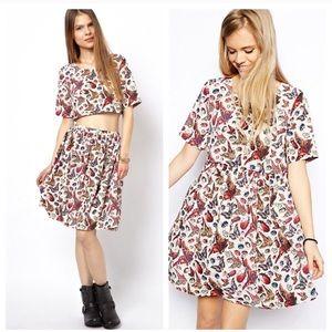 ASOS DETACHABLE bitterly & beetle dress